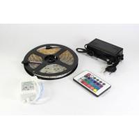 Светодиодная LED лента 5050 RGB Комплект (цветной диод)