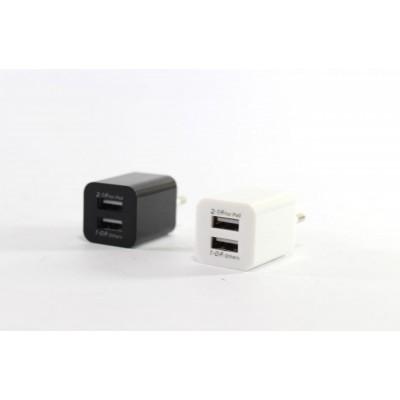 Купити Адаптер на 2 USB, 2100 (кубик)  в Одесі