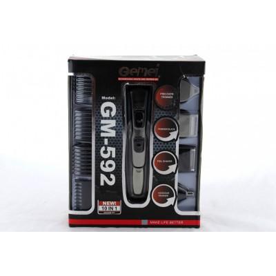 Купити Машинка для стрижки волосся 10в1 GM 592, акумуляторна  в Одесі