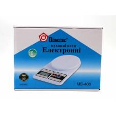Кухонные весы Domotec MS 400 до 10kg