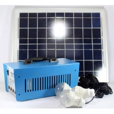 Фонарик GD 8018 + Solar board 20W