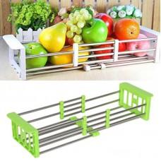 Сушилка для посуды ,многофункциональная, складная, кухонная полка kitchen drain shelf
