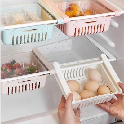 Купить Раздвижной пластиковый контейнер для хранения продуктов в холодильнике Storage rack в Одессе