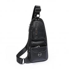 Сумка, рюкзак через плечо Jeep 777 (Мужская, чёрная)