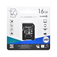 Карта пам'яти microSDHC (UHS-1) 16GB class 10 T&G