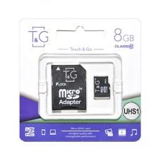 Карта пам'яти microSDHC (UHS-1) 8GB class 10 T&G