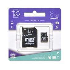 Карта пам'яти microSDHC 8GB class 4 T&G