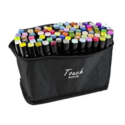 Купити Набор скетч-маркеров 80 шт. для рисования двусторонних Touch в Одесі