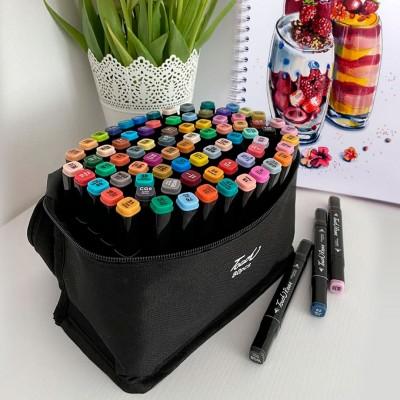 Купить Набор скетч-маркеров 80 шт. для рисования двусторонних Touch в Одессе
